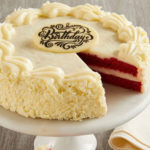 Bake Me A Wish! Happy Birthday Red Velvet Birthday Cake