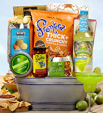 Quot Margarita Time Deluxe Party Bucket Quot Party 1800baskets Com1800baskets Com