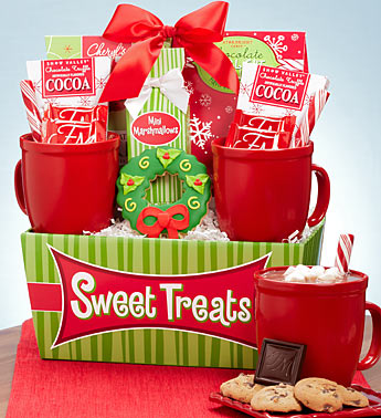 Sweet Treats Mug & Cocoa Gift Basket