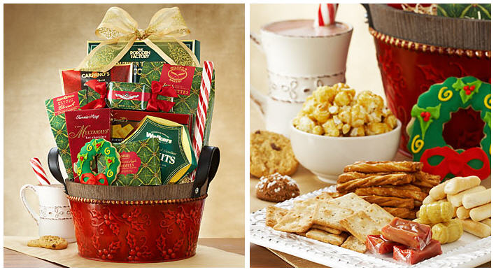 Comfort and Joy Sweet Treats Gift Basket