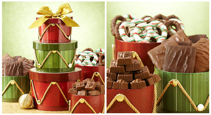 Regal Drum Christmas Gift Tower Harry London Chocolates