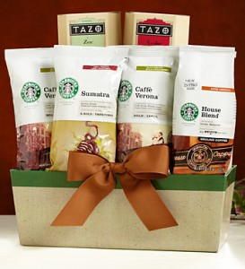 Starbucks® Blends Gourmet Coffee Gift Basket Product Code:96329
