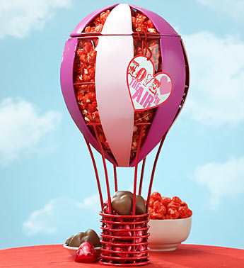 Love is in the Air Balloon & Sweets Product Code:96122