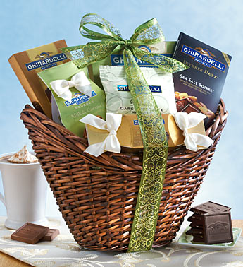 Best of Ghirardelli® Gift Basket St Patricks Day
