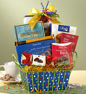 Birthday Gift Ideas Blog On Happy Chocolate Indulgence Basket 3499 Product Code