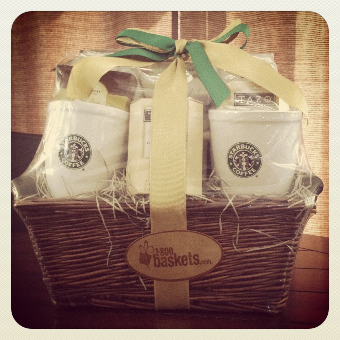 Starbucks Break Time Gift Basket - 1800Baskets