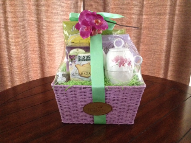 Delightfully Decadent Tea Gift Basket