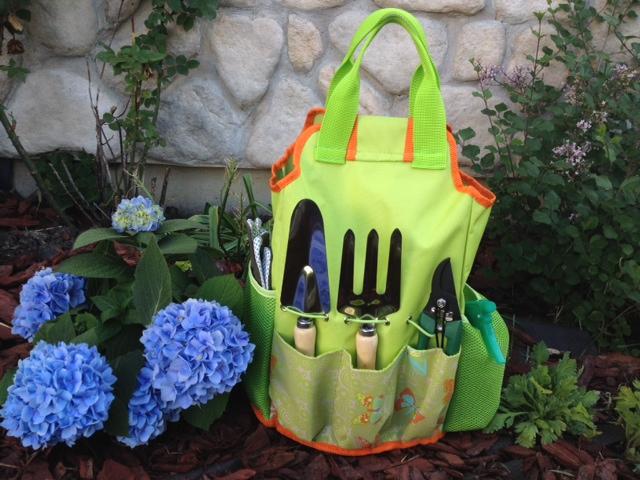 Gourmet Garden Gift with tools gift basket