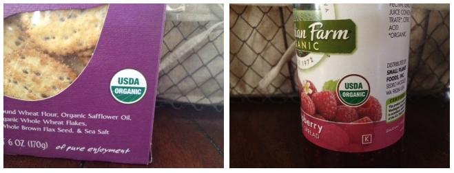 gourmet organic gift basket