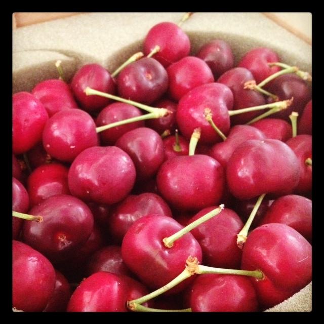 cherries gift summer
