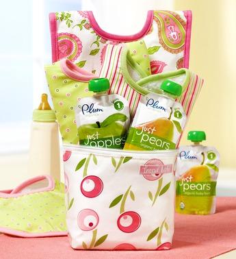 Baby on the Go Tulip Bottle Bag Gift Set