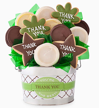 Cheryl's Thank You Cookie Flower Pot