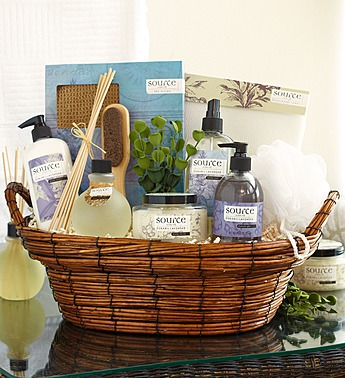 An earth day tribute 30 different uses for baskets 1800baskets denarii lavender spa gift basket negle Choice Image