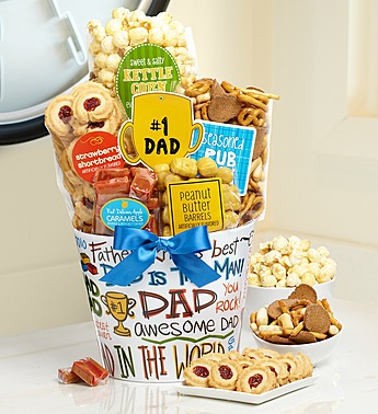 #1 Dad Snack Bowl