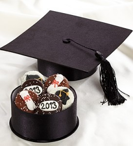 Congratulations Graduate Chocolate Dipped Oreos