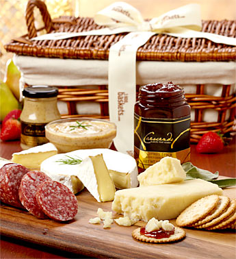 1800baskets.com Meat and Cheese Basket