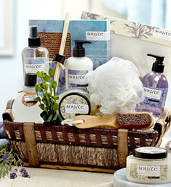 1800baskets.com Lavender Spa Gift
