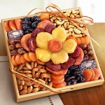 1800baskets Flower in Bloom Gourmet Fruit and Nuts