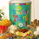 1800baskets Popcorn Factory Great Big Thank You Snack Tin