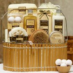 1800baskets Warm Vanilla Spa Basket