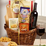 Wine and Italian Food Tuscany Gift Basket