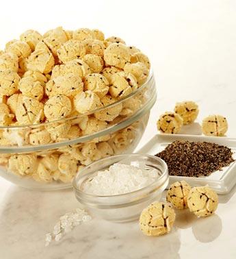 Cracked popcorn