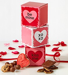 Conversation Hearts Valentine Sweets Tower