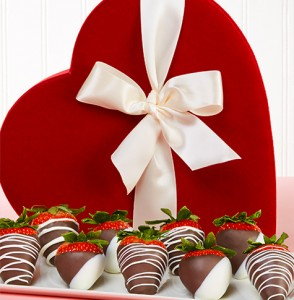 Strawberry Twitter Party Heart Box Prize