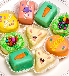 Happy Easter Petit Fours