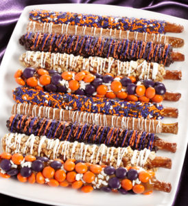 Need tempting treats for Halloween parties, snacking and for trick or treaters?