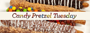 candy pretzel Tuesday
