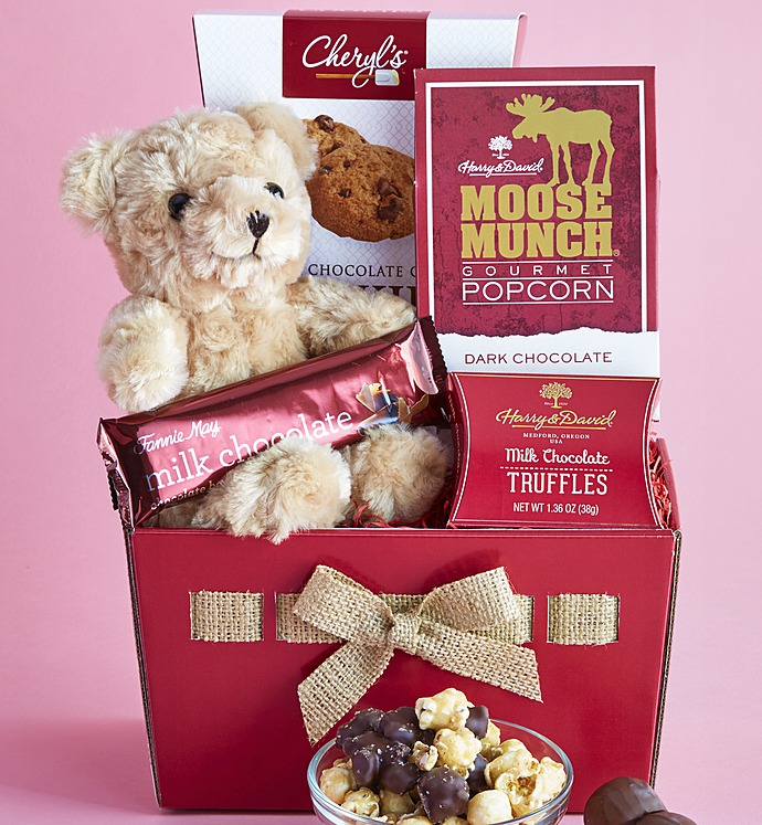 Red Hot Valentines Gifts With Sweet Treats Delivered By Feb ...