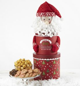 Orderr for Christmas Delivery and deck the halls with our cheerful Santa tower.