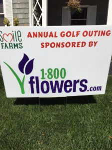 Smile Farms Golf Outing Sponsored by 1-800flowers