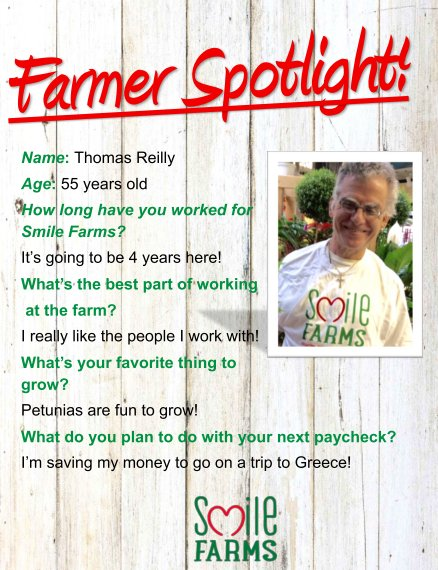farmer spotlight, Thomas Reilly